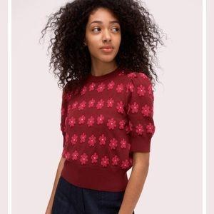 Kate Spade Marker Floral Sweater